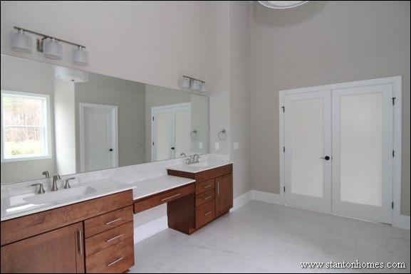 Master Bathroom No Tub no tub in master bath | 2017 new home trends