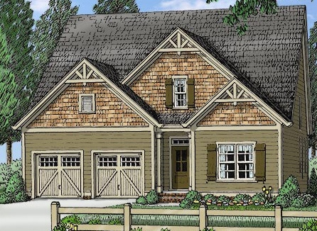 Winning first floor master floor plan nc custom homes for Cost effective house building