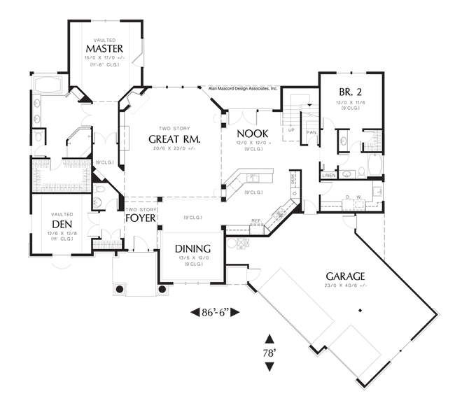 Home Floor Plans With 2 Master ...