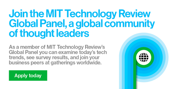 MIT Technology Review wants you back!