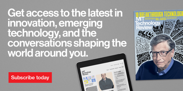 Join the MIT Technology Review Global Panel
