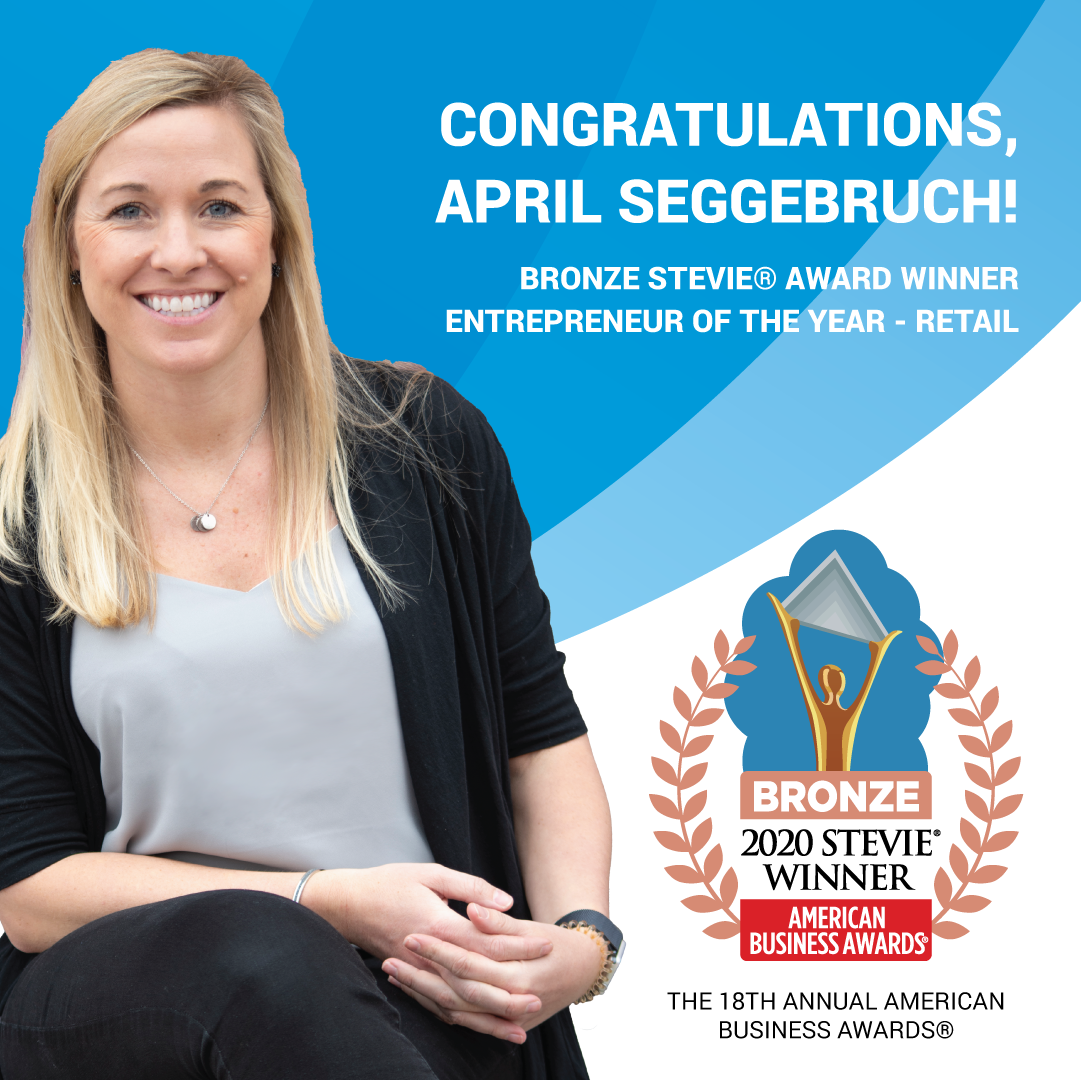 April Seggebruch Awarded with