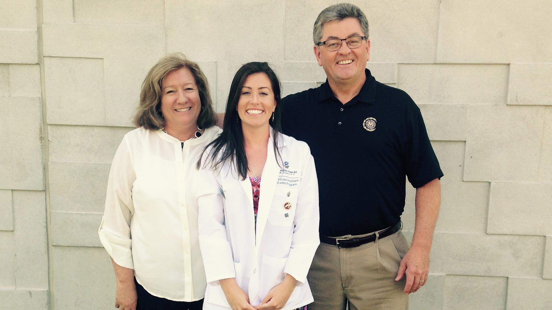 From Patient to PA Practitioner: Elizabeth Heisler '17