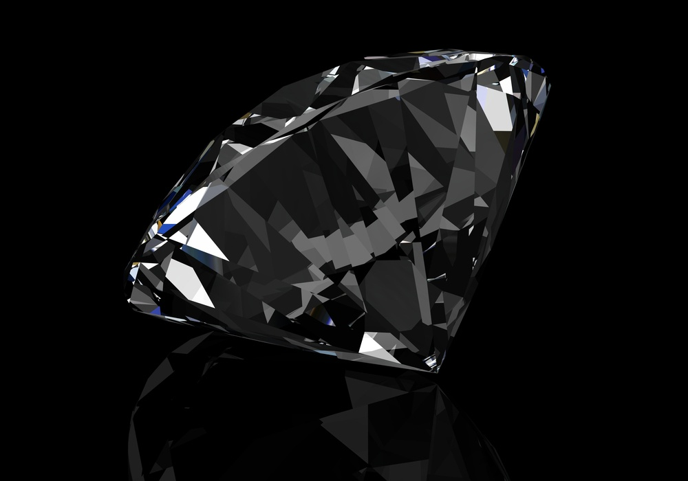 how to tell if a black diamond is real