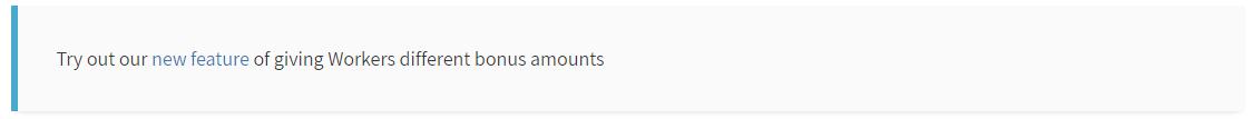 Bonus Multiple Workers