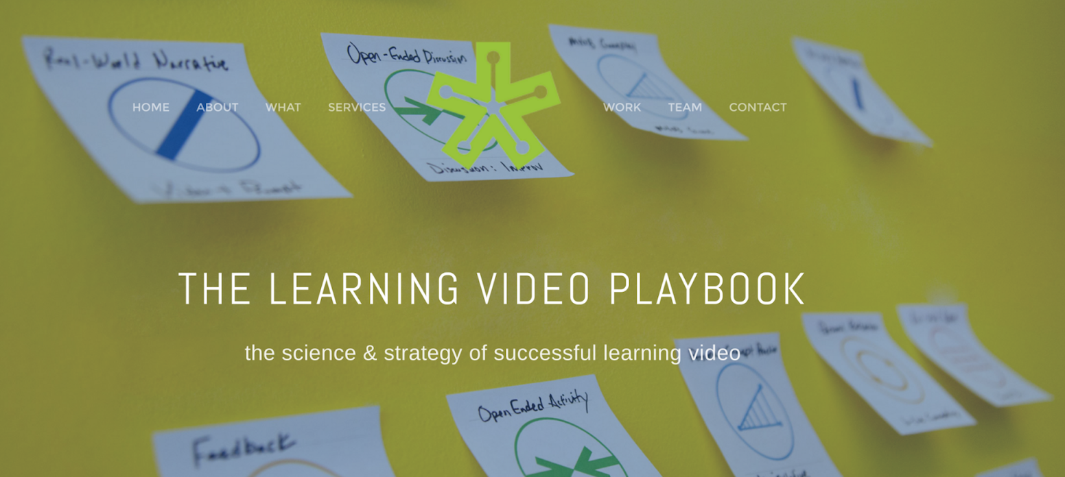 Learning Video Playbook 1