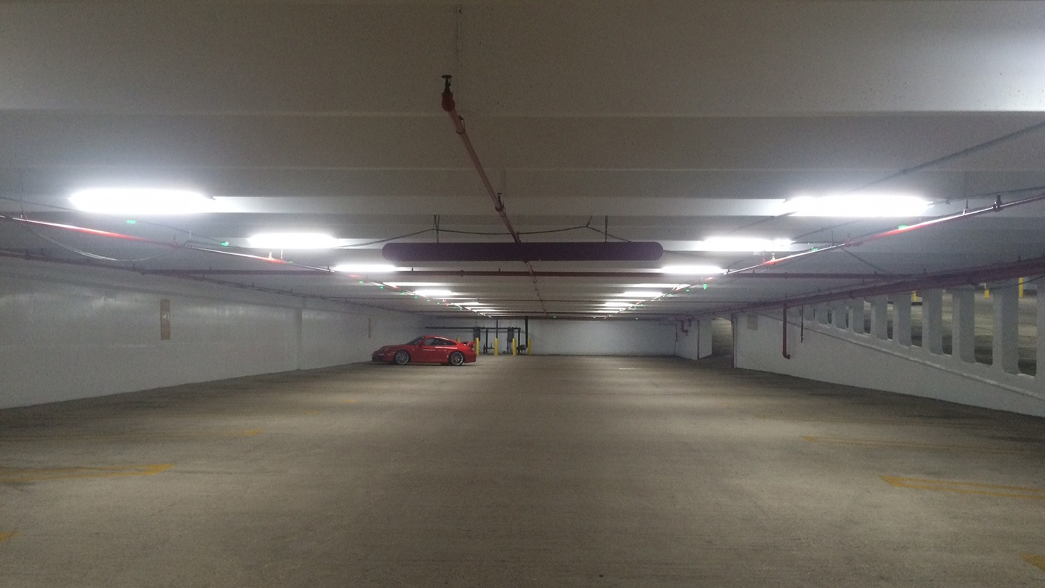 How One Dallas Parking Garage Increased Light Levels And