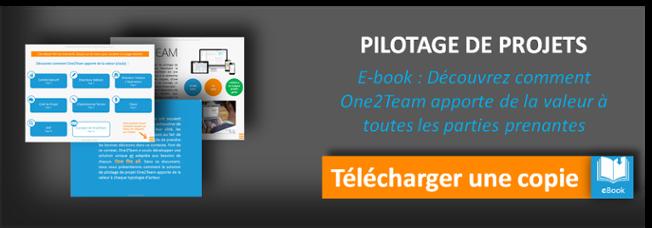 Téléchargez une copie de l'E-book pour découvrir comment One2Team apporte de la valeur à toutes les parties prenantes du projet