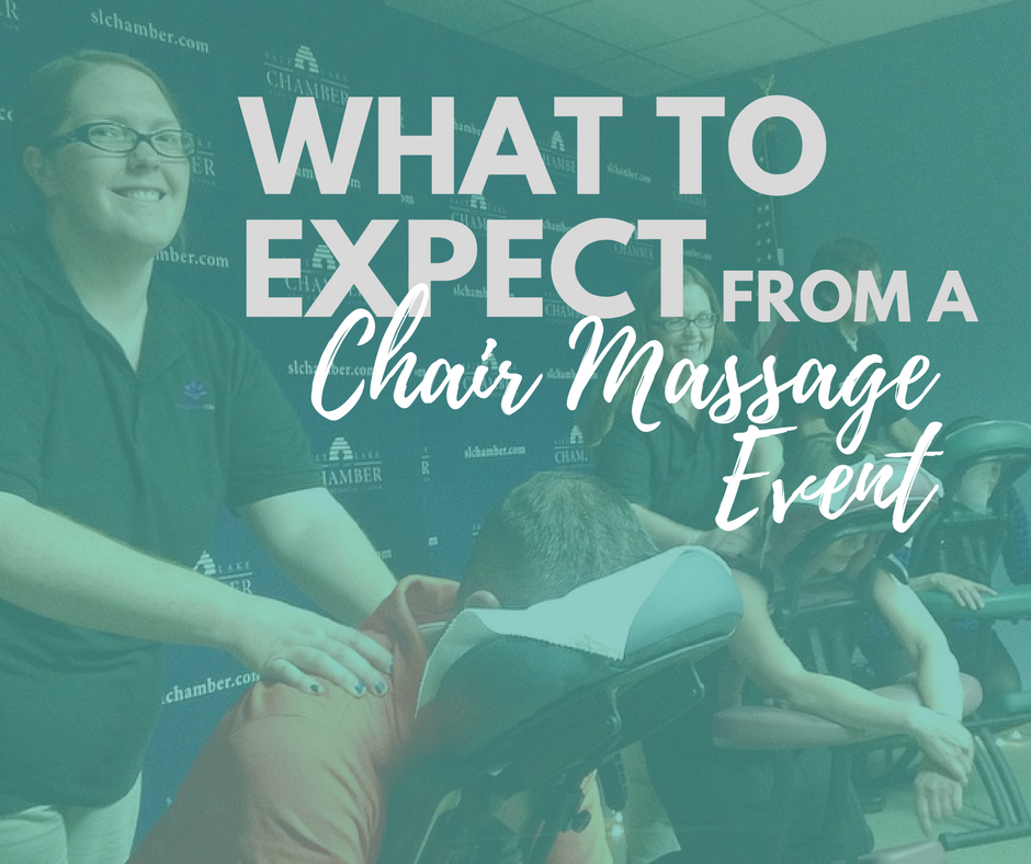 what to expect from a chair massage event