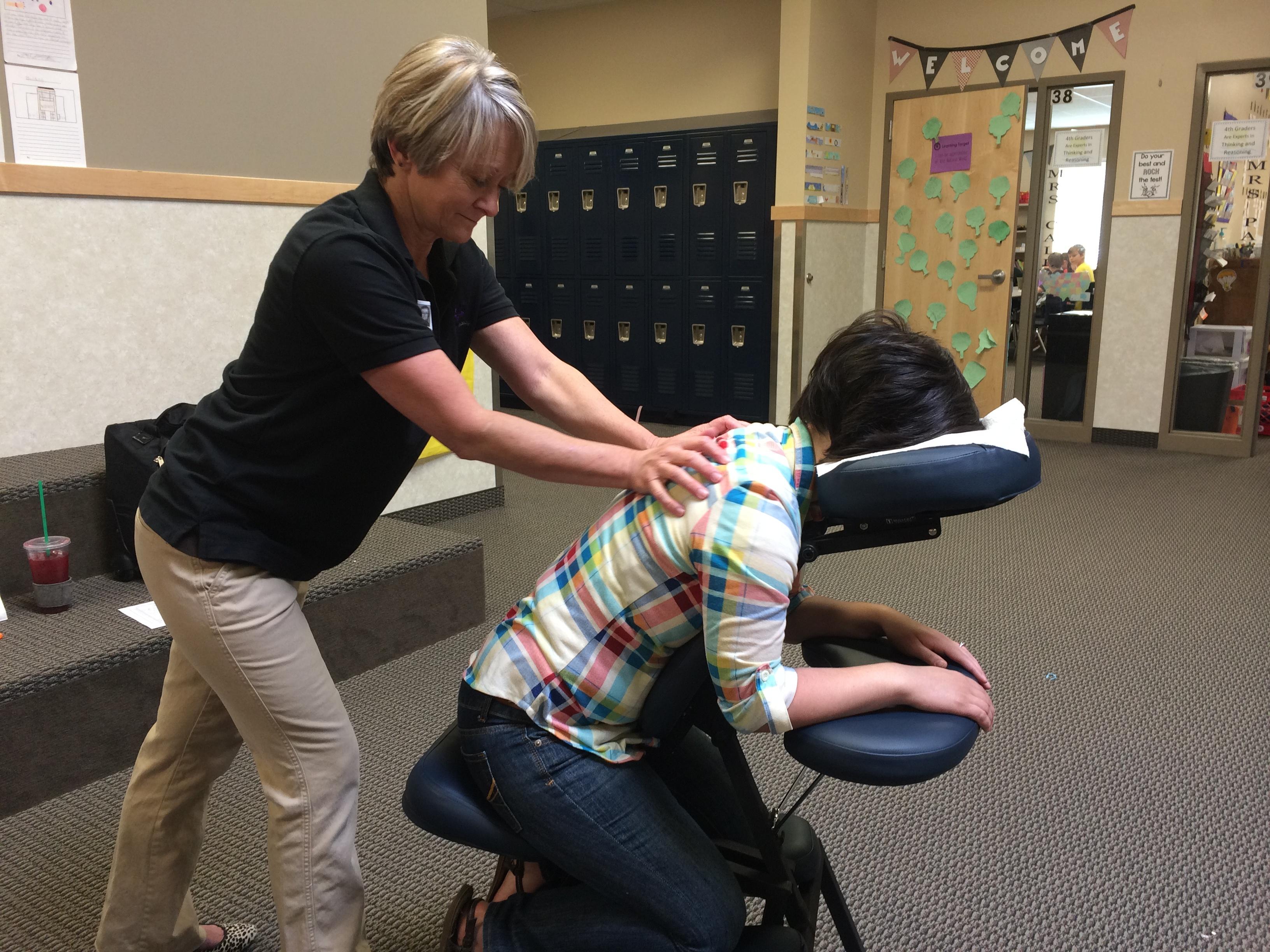 program management for office massage