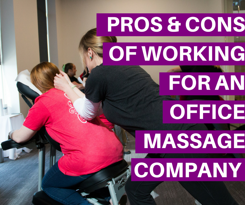 corporate massage jobs