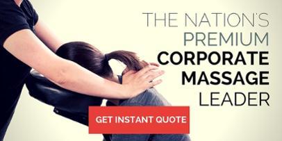 Corporate Chair Massage Washington DCIncorporate Massage