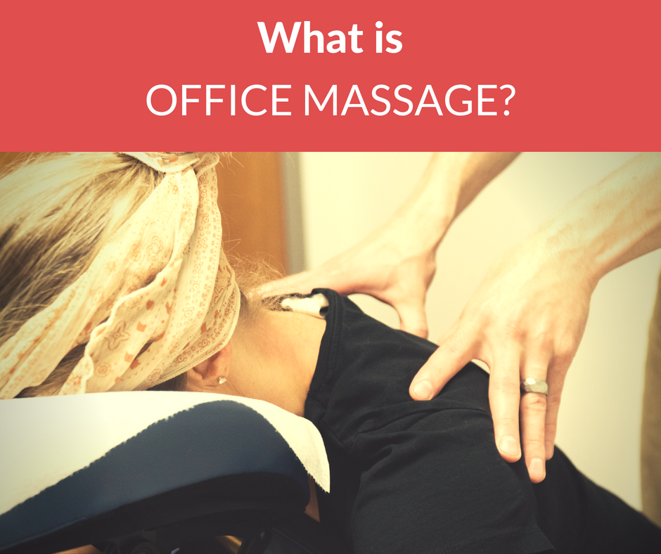 What is corporate massage?
