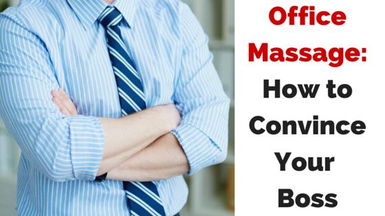 workplace massage program