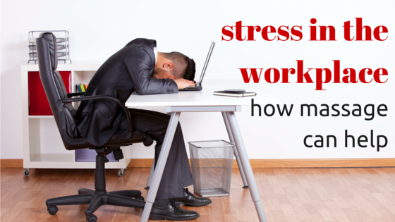 workplace massage for stress relief