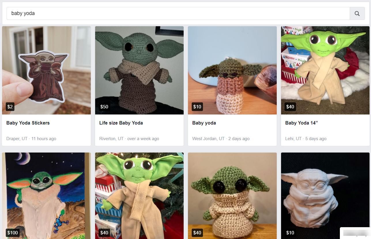 Baby Yoda knockoff products have popped up on various marketplaces on ecommerce, showing the importance of brand protection for ecommerce.