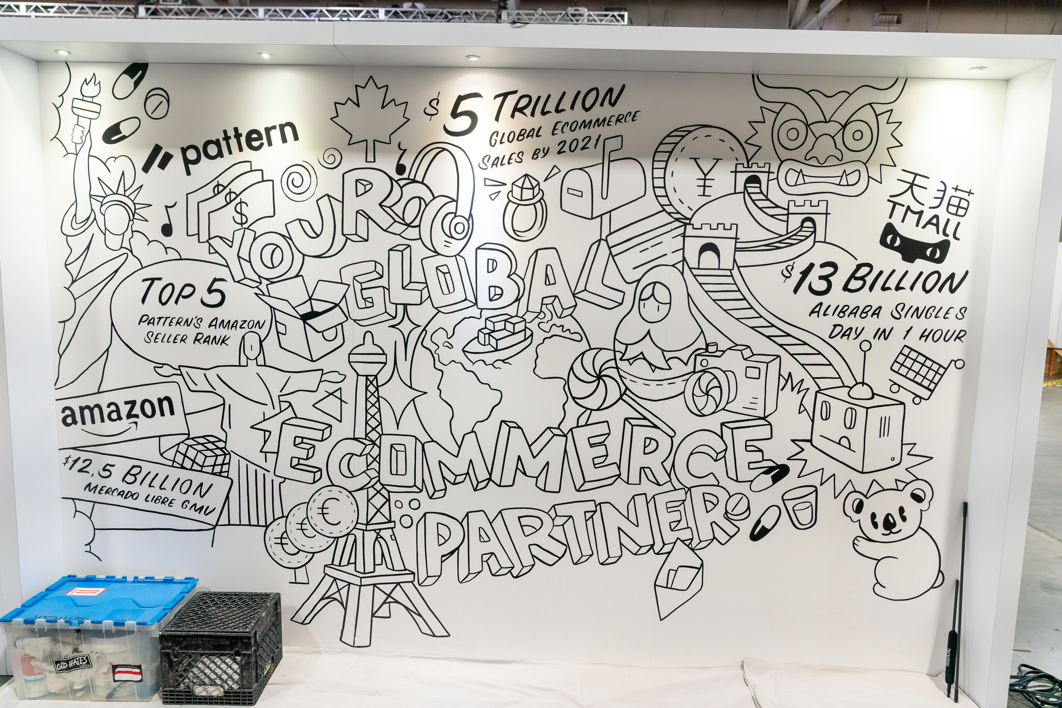 Pattern booth at Silicon Slopes Tech Summit 2020