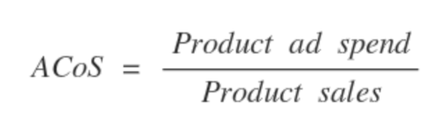 ACoS equation