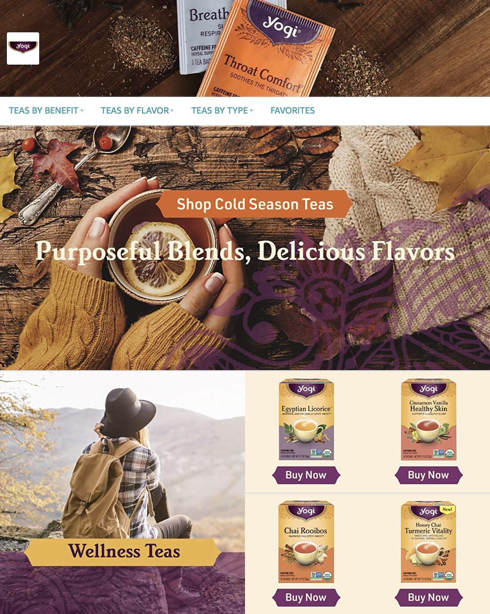 Yogi Tea Amazon Store