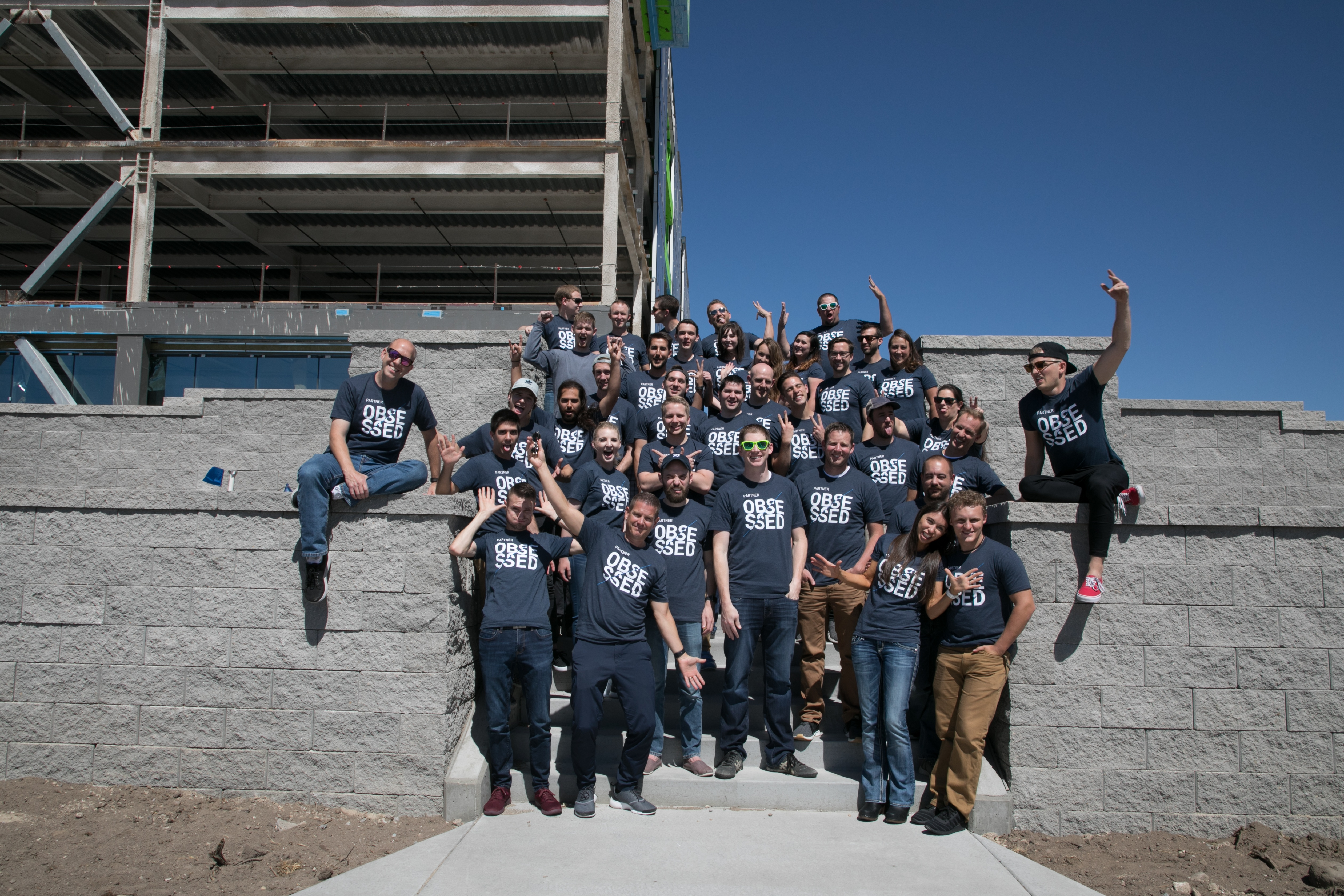 iServe employees at new Lehi building