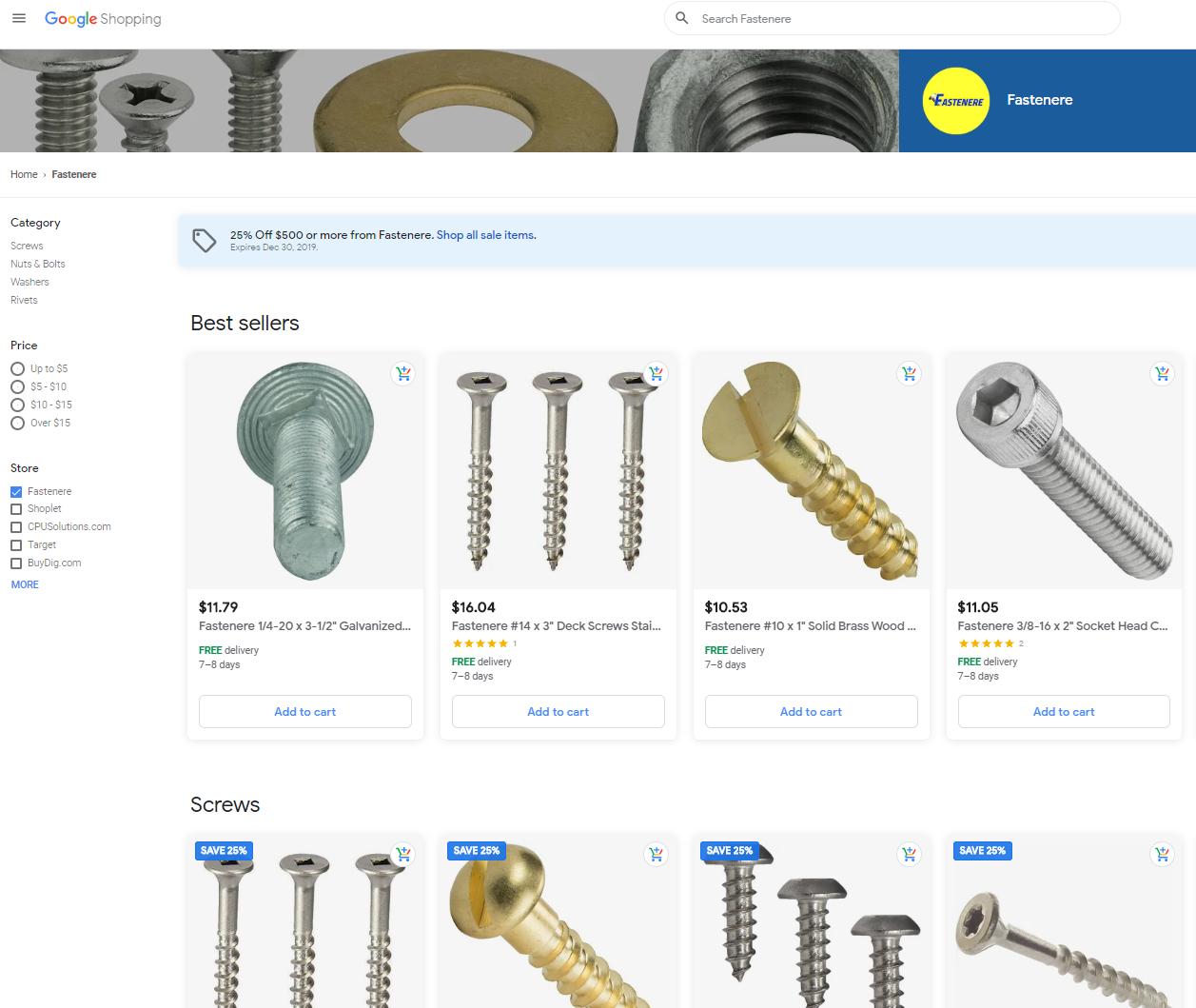 Google Shopping's storefront allows you to help more customers see your product. Pattern's Google Shopping Experts can help you create great content.