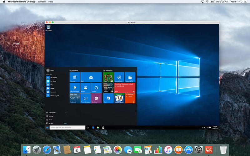 Starting out with Remote Desktop