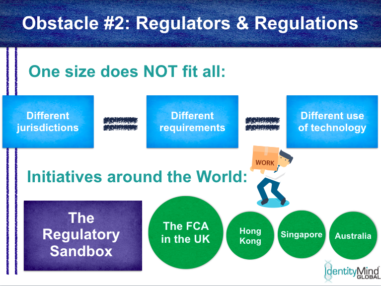 RegTech implementation obstacle 2: the regulatory environment