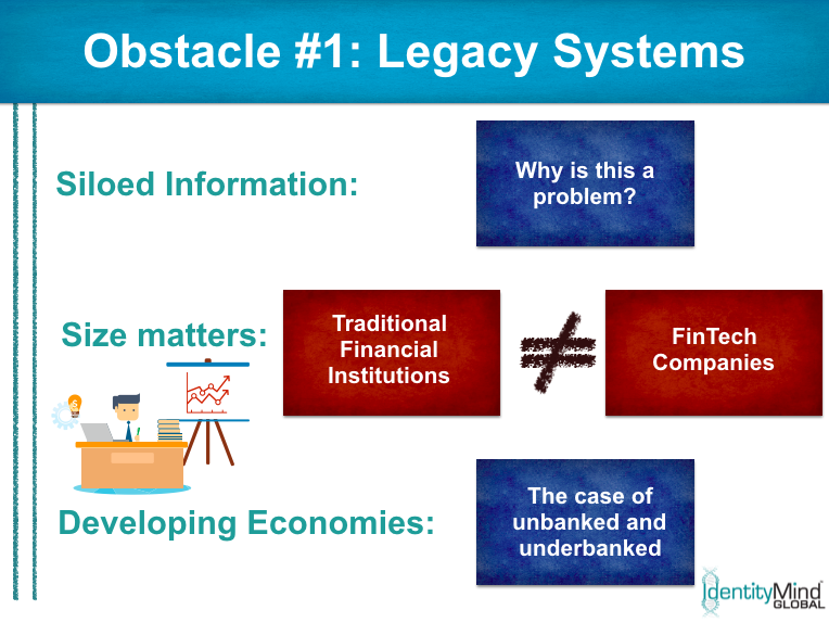 RegTech implementation obstacle 1: legacy systems