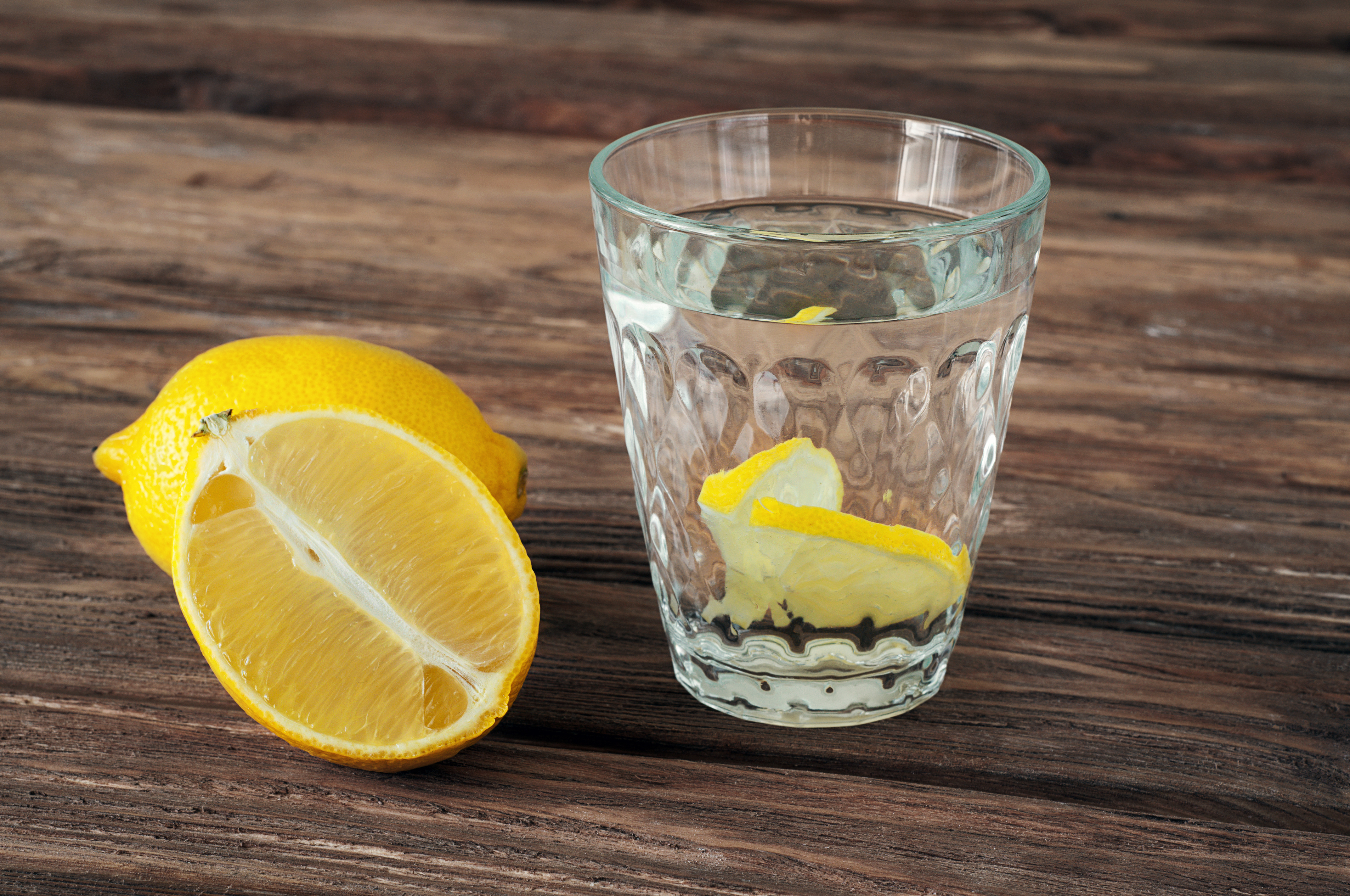 Canva - glass of water with lemon slices