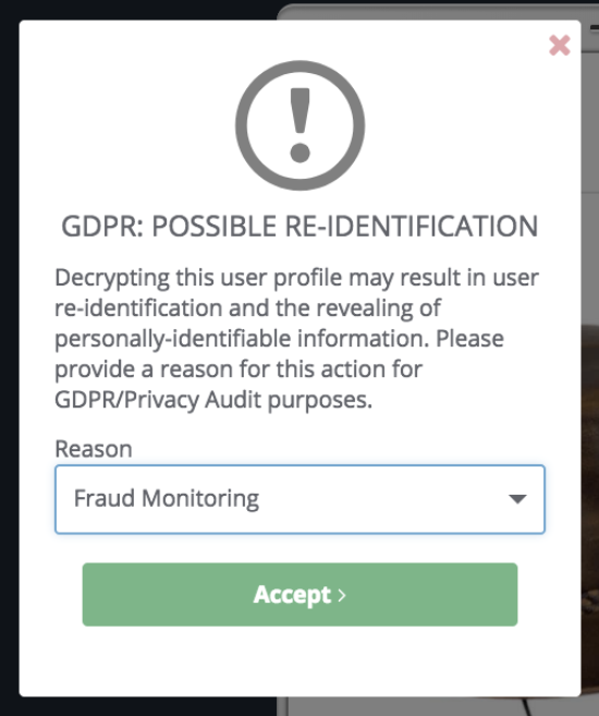 GDPR Re-Identification