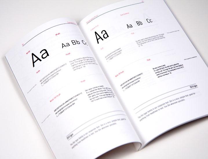 brandbook typography