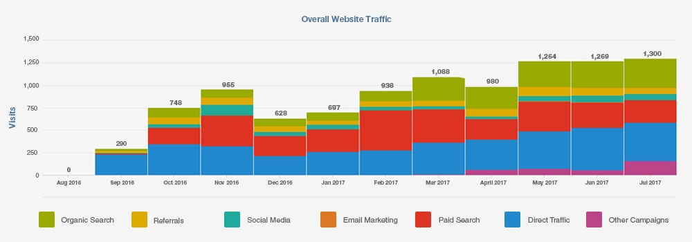 Overall Website Traffic