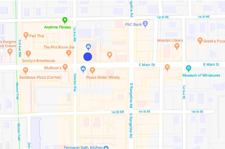 Olio-location-map