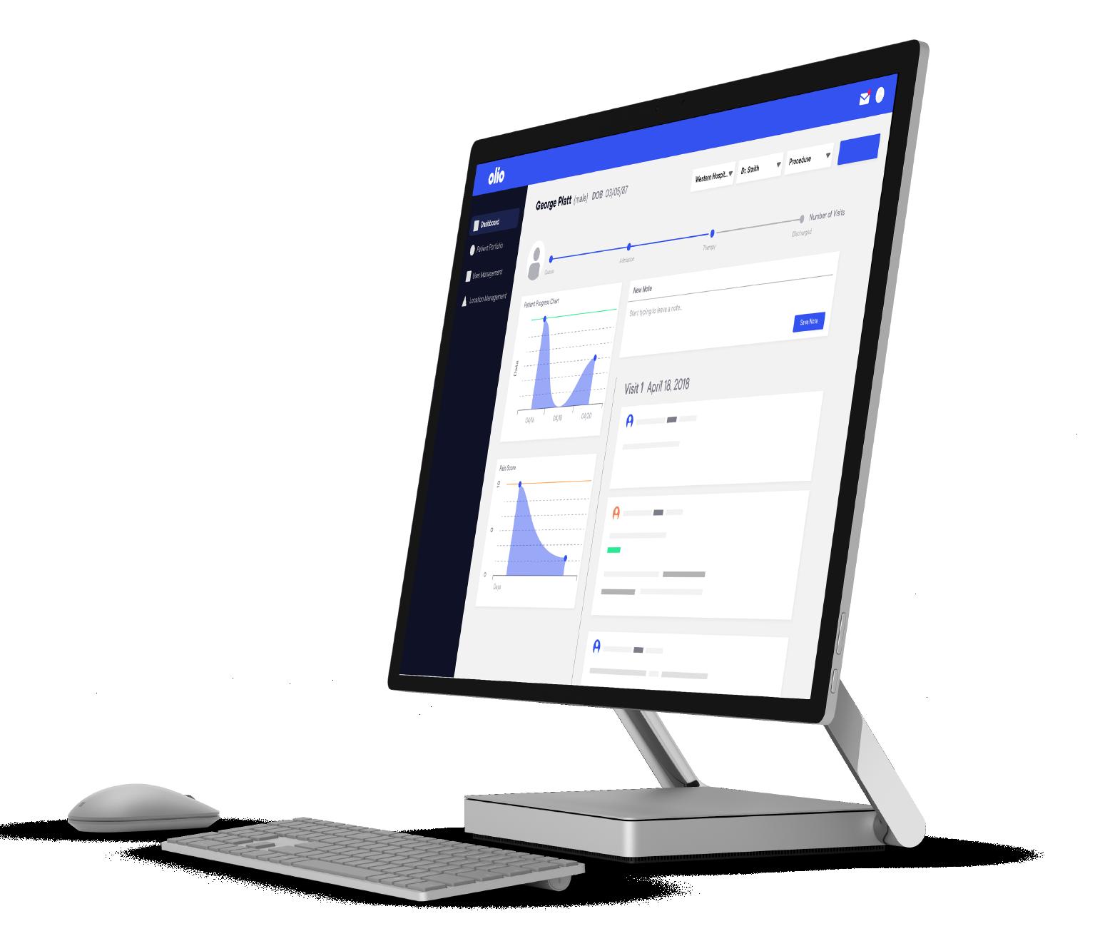 Olio-Software-Screen