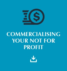 Commercialise Your Not For Profit E-Book