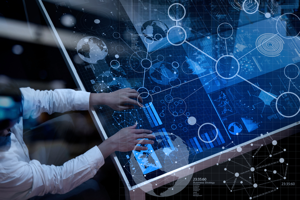 Businessman - digital transformation