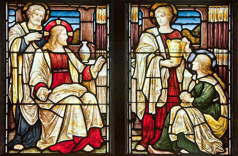 Martha's Works and Mary's Faith