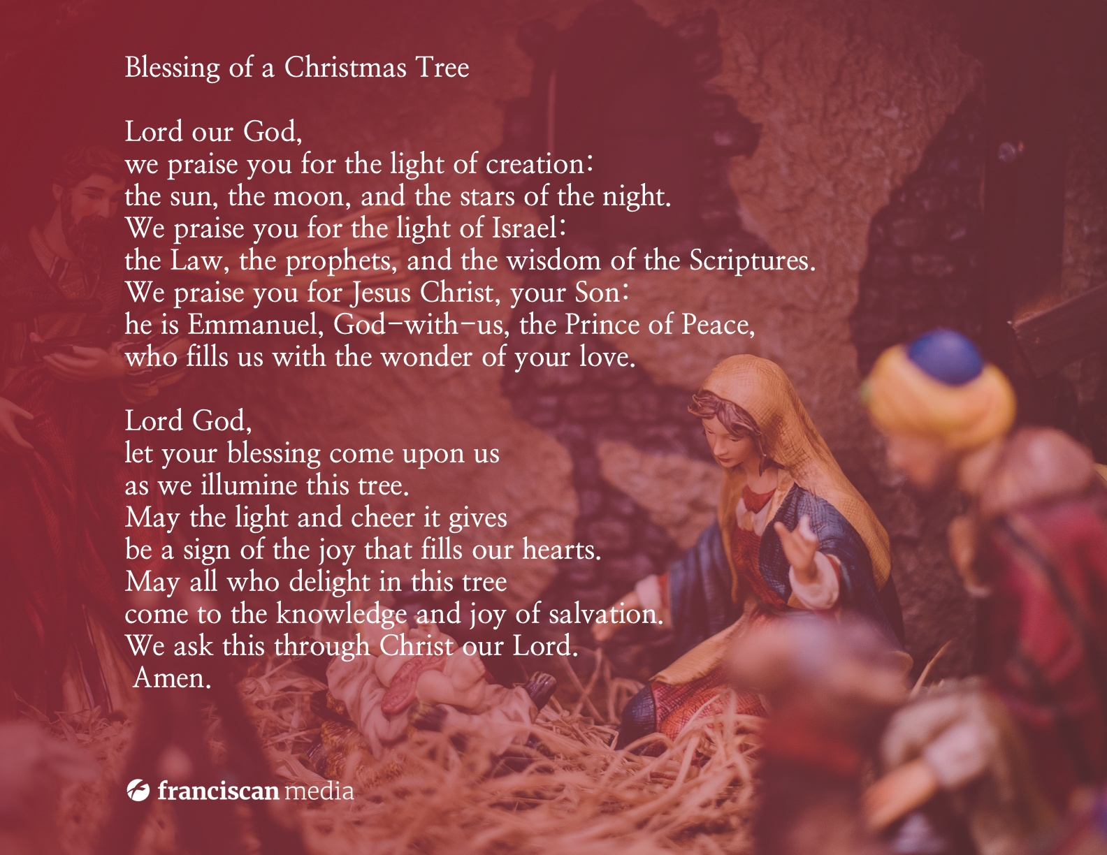 Christmas Tree Blessing