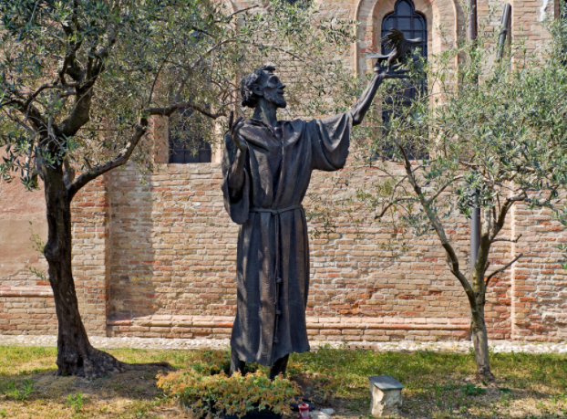 St. Francis was an instrument of joy