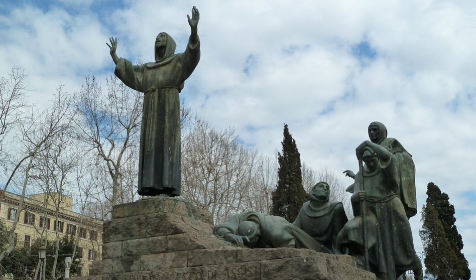 Finding Saint Francis and Saint Clare