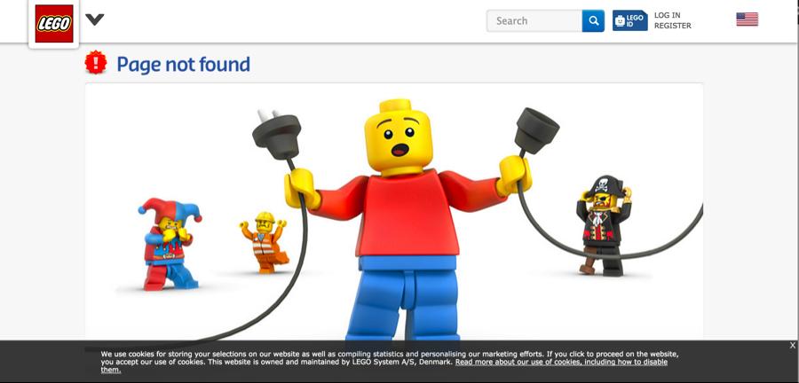 website 404