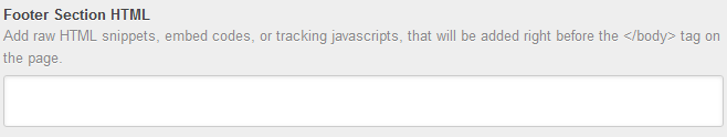 captura de pantalla editar script de pie de pagina