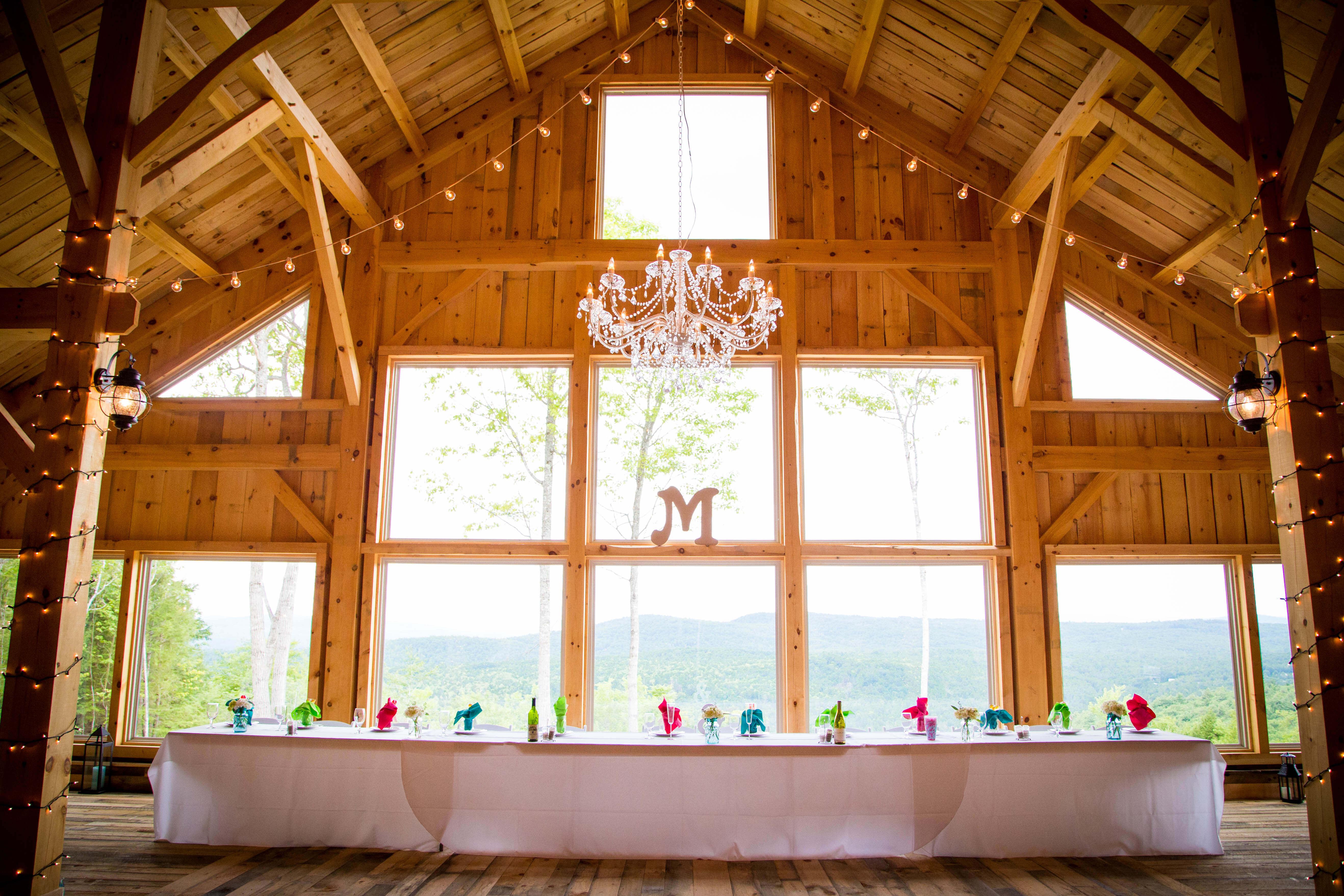 Maine Wedding Venue Barn