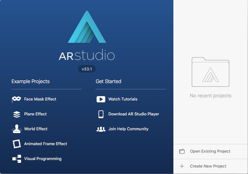Facebook AR Studio
