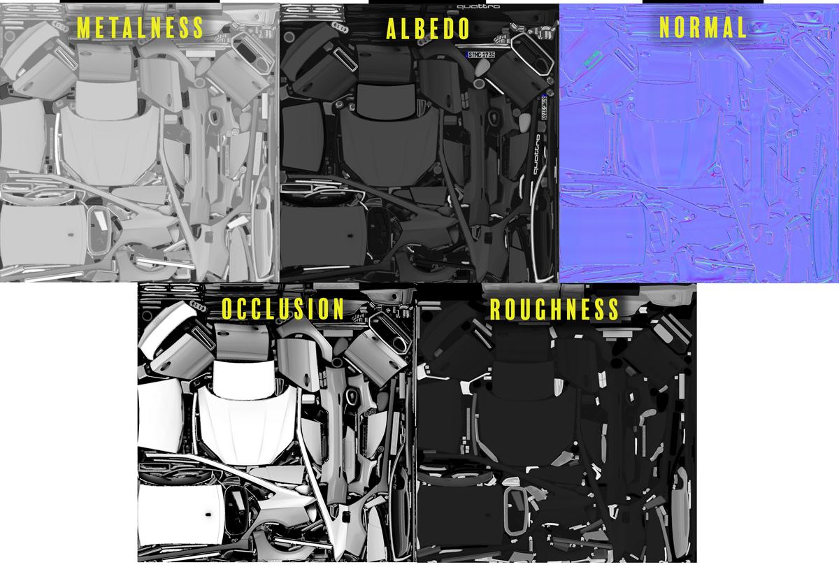 Audi 3D Textures
