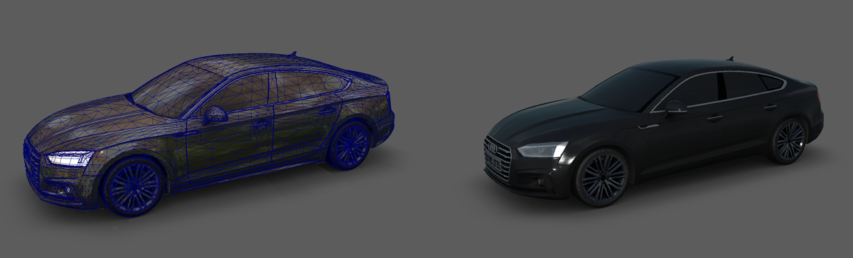 Audi 3D Object Polygons