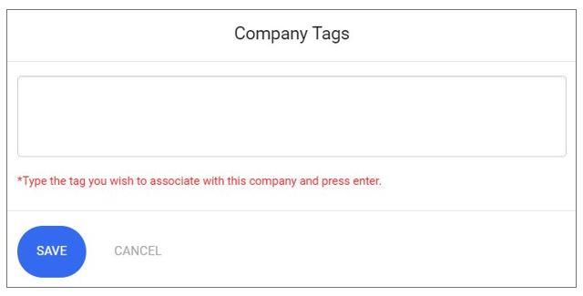 Company Tags