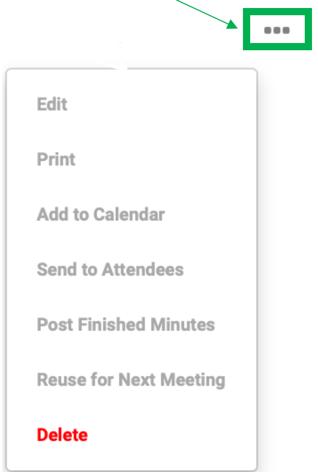 Meetings Ellipse