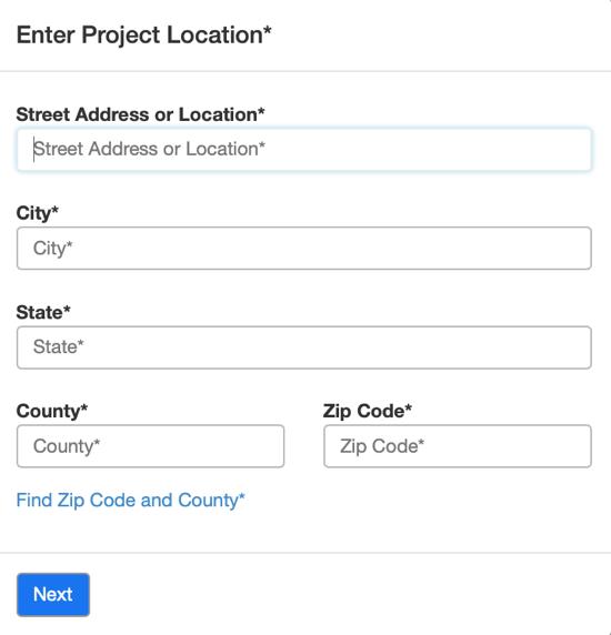 Project Address