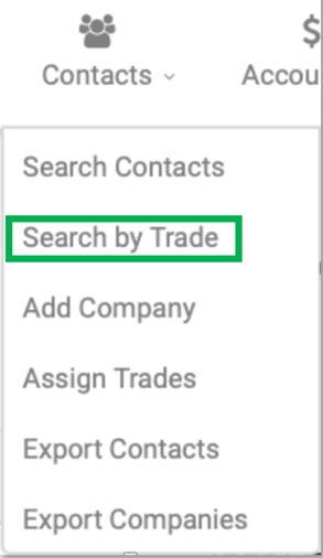 Search by Trade
